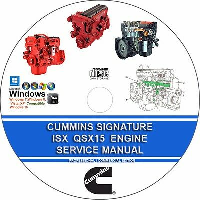 cummins signature isx qsx15 service manual troubleshooting repair rh picclick com