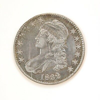 1832 Capped Bust Half Dollar Circulated Condition Small Letter Variety