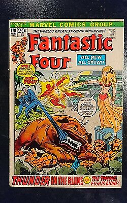 Fantastic Four #118 (Marvel, 1971) Condition: Approx. GD....
