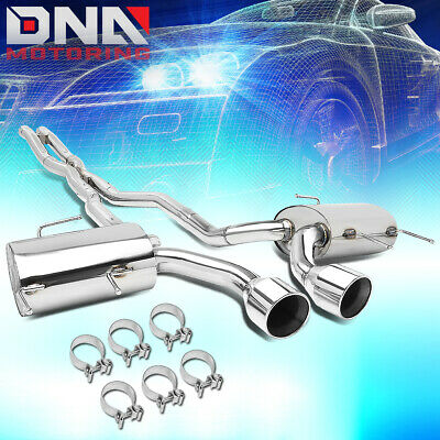 For 2011-2014 Cadillac Cts V Coupe 6.2L Dual Muffler Catback Exhaust System+Tip