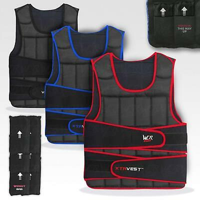 We R Sports XTR Weight Vest 5,10,15,20,30 Adjustable Weighted Vest Loss Running