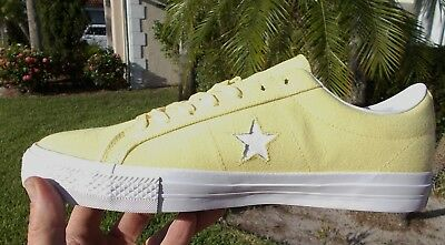 0247c336a858 Converse One Star PRO OX Chocolate (Yellow Days Ahead) Size US 11.5 159380C