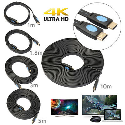 HD Ultra High Speed HDMI v2.0 Cable Ethernet 2160P 4K 3D HDTV Video 1-10M LOT