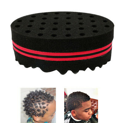 Personal Care Appliance Parts Double Sided Barber Hair Brush Sponge Dreads Locking Twist Coil Afro Curl Wave