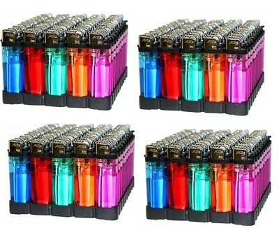 ACE CLEAR LIGHTER 50 Pcs Disposable Ass. Color Counter Display 2 Box Best Value