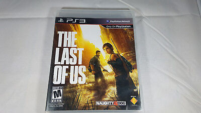 THE LAST OF US Sony Playstation 3 PS3 PS ONE game play move video