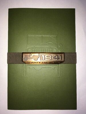 2016 Jeep 75-Years History (Since 1941) 26-page Original Sales Brochure