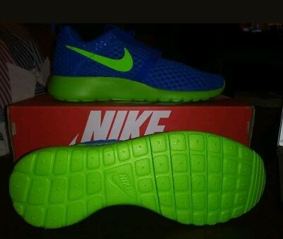 948f83684137 Nike Roshe One Flight Weight GS Rosherun shoes Sprite Blue Green Kids  705485-404