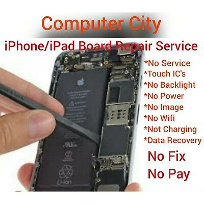 iPhone/iPad Board Repair Service (No Power/Touch/Backlight/Image/Service)