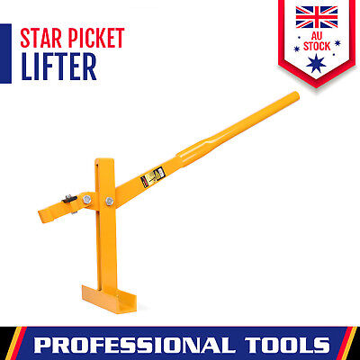 Fence Post Lifter Puller Star Picket Steel Pole Remover Fencing Farming Tool New