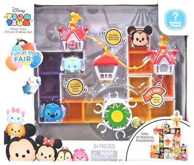 Disney Tsum Stack Ems Fun At The Fair Deluxe Display Set