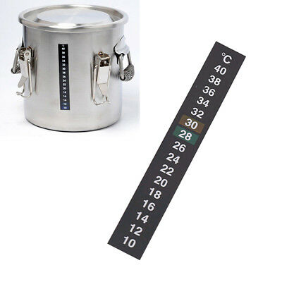 Home brew beer 10-40 ℃ Strip Temperature Thermometer Aquarium Fish Tank Sticker