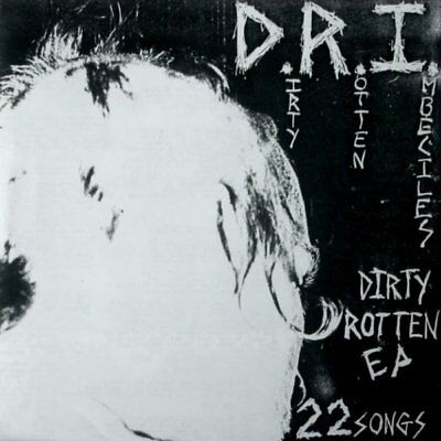 D.R.I. - Dirty Rotten Imbeciles COLORED LP
