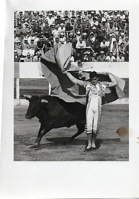 Photo Toréro. Antonio Briceno Tauromachie Corrida 1965.  18x13