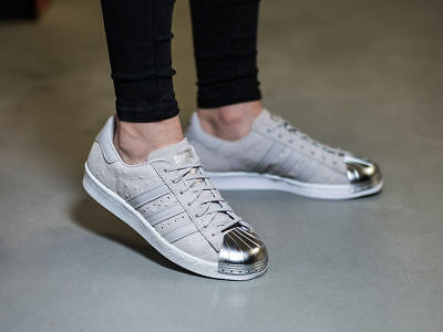 ADIDAS ORIGINALS WOMENS Superstar 80s Metal