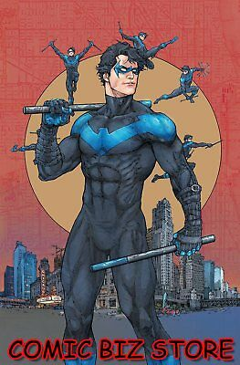 Nightwing #48 (2018) 1St Print Rocafort Variant Cover Bagged & Boarded Dc Univ