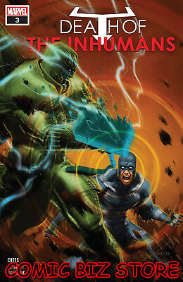 Death Of Inhumans #3 (2018) 1St Printing Main Cover Bagged & Boarded Marvel