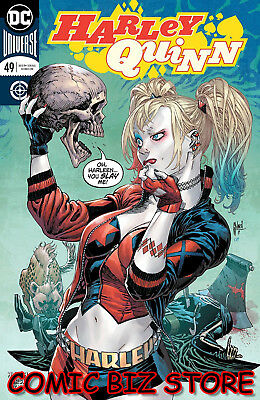 Harley Quinn #49 (2018) 1St Print March Main Cover Bagged & Boarded Dc Universe
