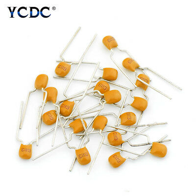 10pF To 10uF Monolithic Ceramic Capacitors Assorted Kit 50V 5.08mm 20Pcs Pack 9