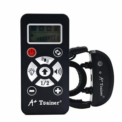 A+ Trainer 800 Yards Remote Dog Training Collar Rechargeable Waterproof Auto Ant