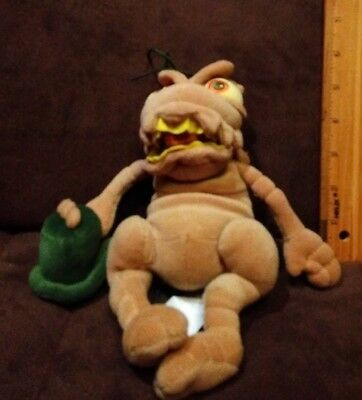 "Disney World A Bug's Life -  P.t. Flea 9"" Plush Bean Bag Toy"