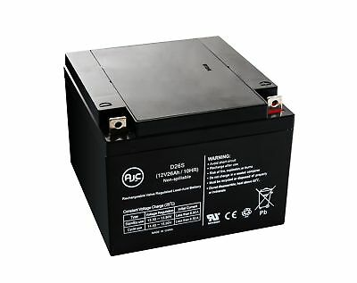 MK M12260 SLD M 12V 26Ah Wheelchair Battery - This is an AJC Brand Replacement