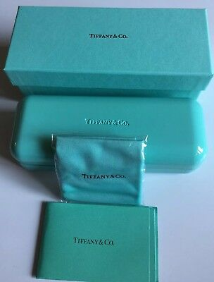 2e10fd96f3fa Tiffany & Co Glasses Case With Outer Box, Pouch Bag and Authenticity Card!