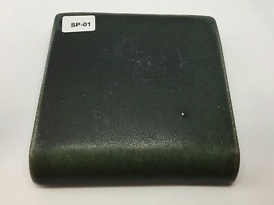 "SP-01 Dark Green Vintage 4x4"" Bullnose Antique Fireplace Mantle Tile"