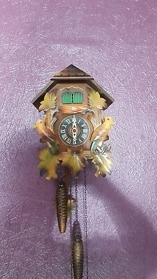 Old Twin Bird Black Forest Cuckoo Clock SPARES REPAIR