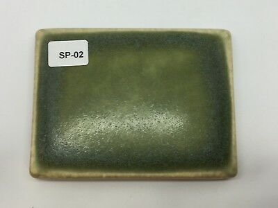 "SP-02 Olive Green Vintage 3 7/8"" x 3"" Antique Fireplace Mantle Tile"