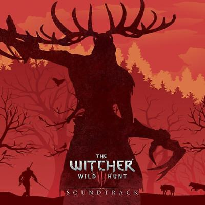 The Witcher 3: Original Game Soundtrack Four LP Set [Clear Vinyl]