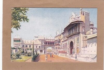 Bhopal Palace Main Entrance 8957 Raphael Tuck & Sons. Antique Postcard (C8)