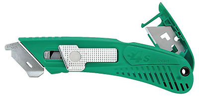 Pacific Handy Cutter S4SR Right Handed Safety Box Utility Knife with Spring Back