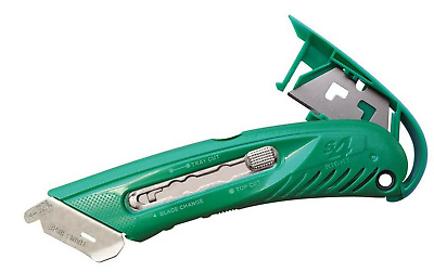 Pacific Handy Cutter S4R Right Handed Safety Box Utility Knife Makes Easy Cuts