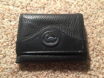 Vintage Dooney & Bourke U.S.A. Black Mens Womens Unisex Wallet