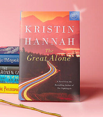 The Great Alone: A Novel by Kristin Hannah ( Hardcover , 2018) Free Shipping