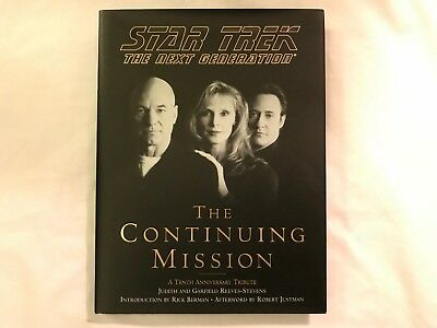 Lot of 6 Star Trek Books; Encyclopedia, TNG Companion/Continuing Mission DS9 TOS