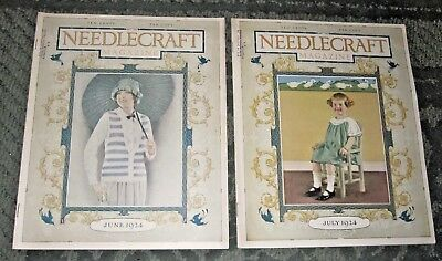 2 June 1924 And July 1924 Publications - Needlecraft