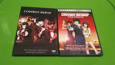 Cowboy Bebop DVD set movie complete the perfect sessions limited anime lot
