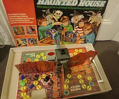 Haunted House Board Game 1971 Which Witch Rare 99% Complete