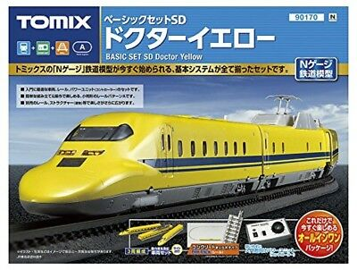 Tomix 90170 JR Series 923 Shinkansen Doctor Yellow N Scale Starter Set N scale