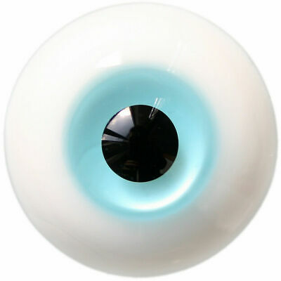 E11# 12mm Green Glass Eyes with Pupil For BJD Doll Dollfie Outfit Wamami