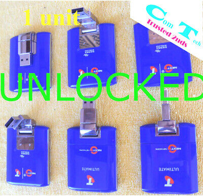 Unlocked 4G Sierra 320U Telstra Vodafone Optus USB Modem Windows10 updated