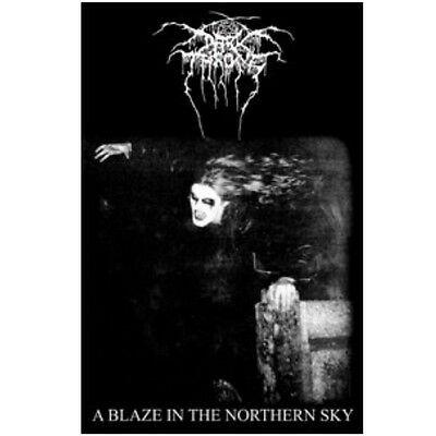 Darkthrone a blaze in the northern sky Textile Poster Flag
