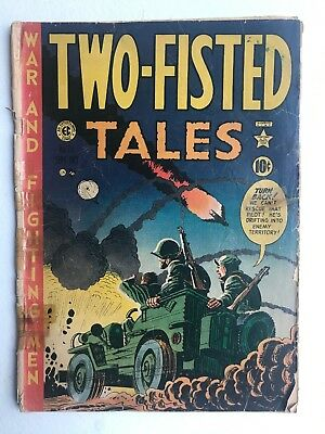 Two-Fisted Tales 23 Poor Wood Kurtzman cover Davis  1951