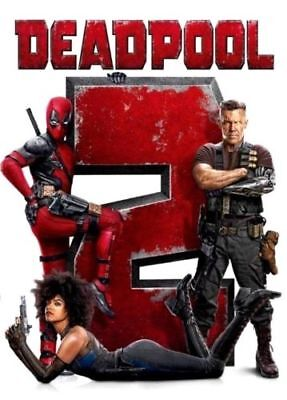 Deadpool 2 (DVD,2018) NEW*  Action, Comedy, S/Fiction*  FAST IMMEDIATE SHIPPING