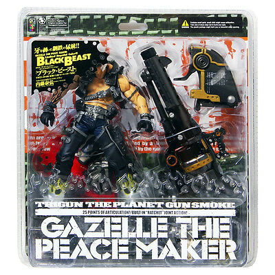 New Trigun Gazelle the Peacemaker Figure Kaiyodo Japan Anime manga import Free