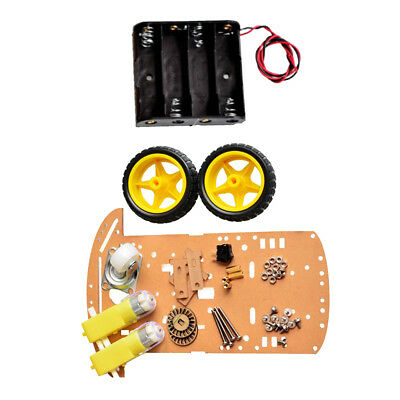 DIY 2WD Motor Smart Robot Car Auto Chassis Kit Speed Encoder for Arduino New