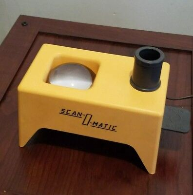 Vintage Scan O Matic Lighted Coin Viewer & Magnifier - Working with good bulb