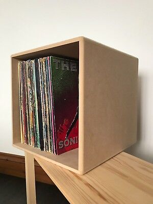 "Handmade Vinyl Storage Crate/Box 12"" LP Vinyl Record Album Modern"